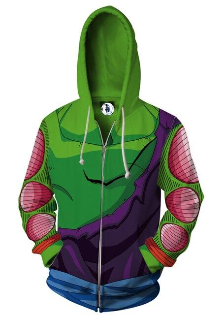 Long Sleeve  Master Roshi  Zip Up Hoodie