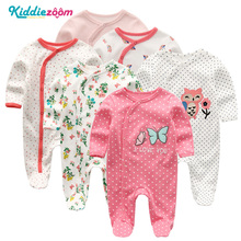 Baby Rompers Infantil Menina Inverno Newborn Girl Cotton Pajamas Overalls Long Sheeves Baby Boy Romper New boy Clothes 0 1 Years