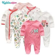 Детский комбинезон для новорожденных, Menina Inverno, Хлопковая пижама для новорожденных девочек, комбинезон с длинными рукавами для маленьких мальчиков, Новый комбинезон для мальчиков, одежда для мальчиков
