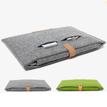 11.6 13.3 15.4 inch Wool Felt Laptop Bag Sleeve for Macbook Air Pro Retina 11 13 15 Notebook Cover Case for Macbook Air 13 Coque binful portable soft sleeve laptop bag computer bag smart cover 11 13 1415 for macbook air pro retina all notebook 15 6 inch