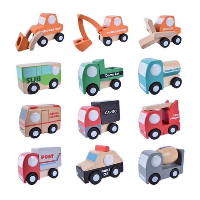 Wooden Toy Automotive Engineering