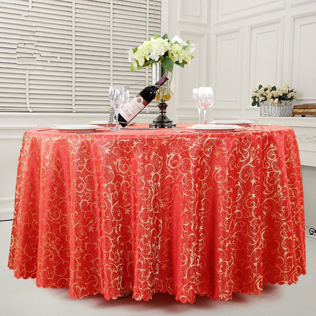 Beau Custom Hotel Tablecloths / Tablecloths / Banquets Hook Flowers Totel  Wedding Table Skirt / High