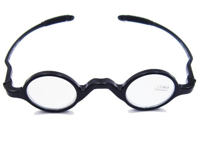 1f89928448 Agstum TR90 Small Round Flexible Eyeglasses Vintage Retro Reading Glasses  Reader +1 +1.5 +