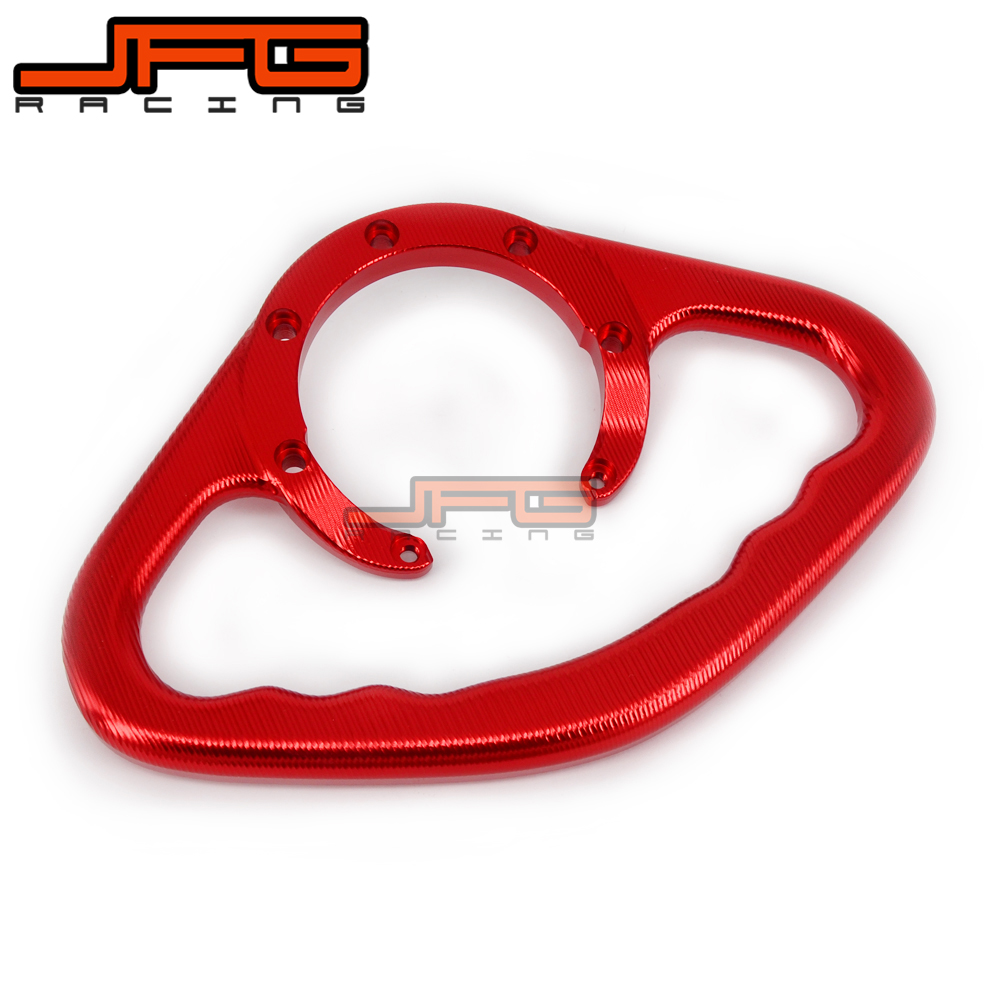 CNC Tracer Passenger Fuel Tank Grab Bar For Honda CBR600 CBR600F4 CBR600F4I CBR600RR CBR900RR CBR929 CBR954 RC51 VTR1000 high quality motorcycle parts aluminum alloy gas fuel petrol tank cap cover fuel cap for honda cbr 929 954 rc51 all years