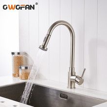 Modern Black Kitchen Faucets 360 Degree Rotation with Water Purification Features Sink Taps Deck Mounted  Mixer Tap Crane 88309 frap new arrival kitchen faucet deck mounted mixer tap 180 degree rotation with water purification features nickle f4399 8