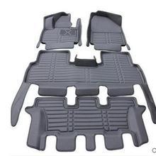Высококачественные коврики! Специальные автомобильные коврики для Ford Explorer 7 мест водонепроницаемые автомобильные ковры для Explorer-2011