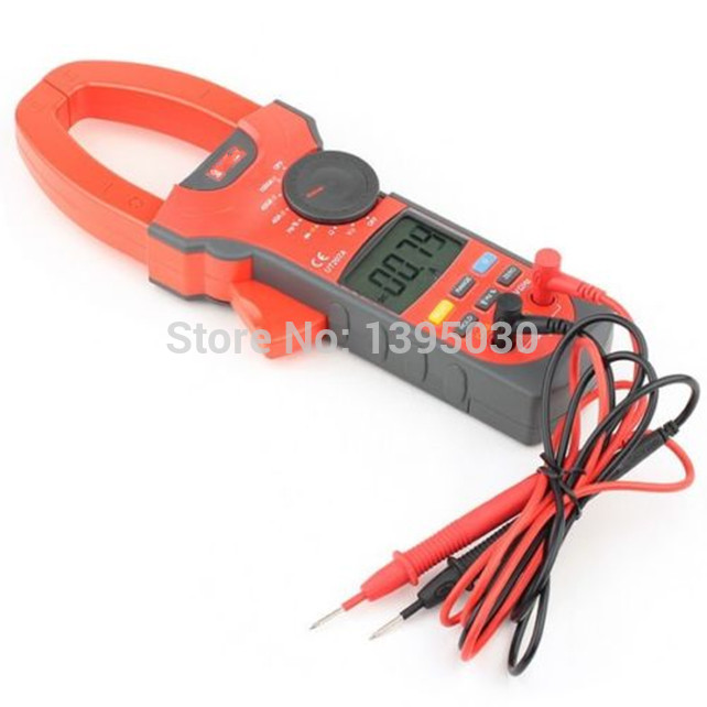 Clamp LCD Digital Multimeter AC DC Volt Amp Ohm Hz Tester  Multi-functional Digital Multimeter