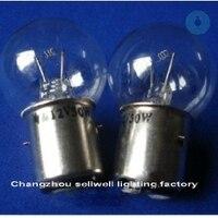 Instrument Bulb 12V 50W BA20d/25 34X57 YQ12 50 1 A828 10pcs sellwell lighting