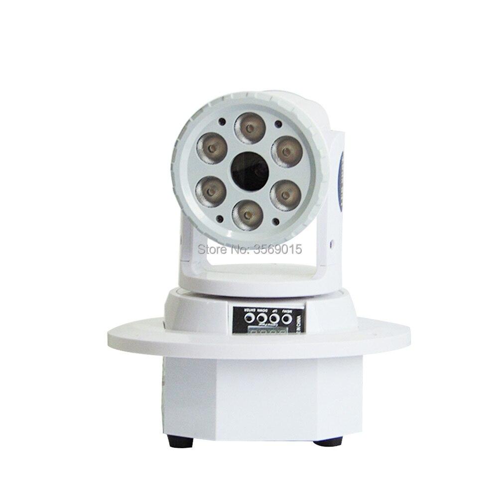 6x12 watt 10 watt Waschen grün Moving Head Laser Dj Disco Digitale DMX 512 Bühne Beleuchtung - 4