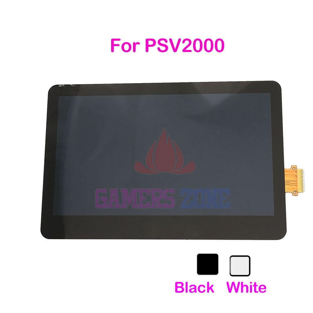 6PCS สีขาวเปลี่ยนสีดำหน้าจอ LCD สำหรับ PSV2000 จอแสดงผล LCD สำหรับ Psvita PSV 2000-ใน ชิ้นส่วนและอุปกรณ์เสริมสำหรับเปลี่ยน จาก อุปกรณ์อิเล็กทรอนิกส์ บน AliExpress - 11.11_สิบเอ็ด สิบเอ็ดวันคนโสด 1