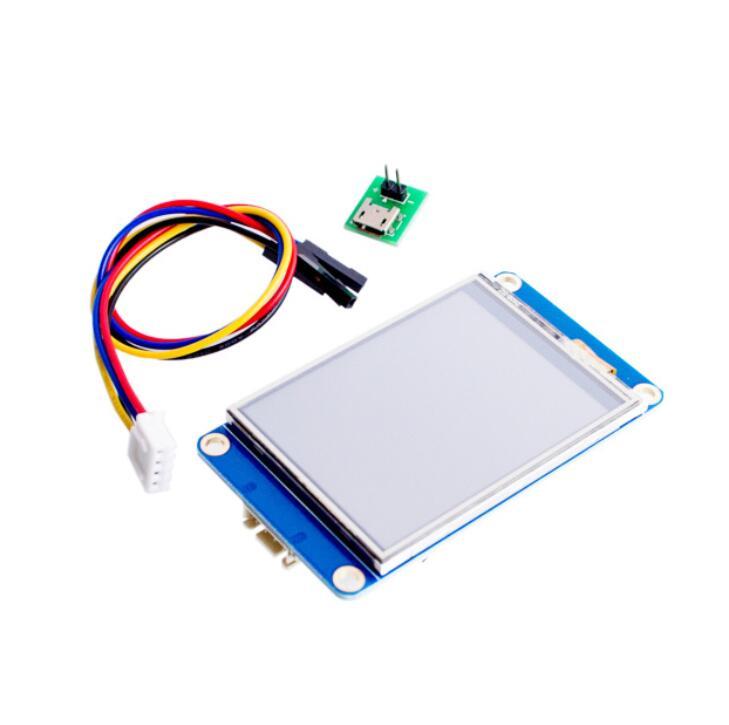 цена на 3.2 Nextion HMI Intelligent Smart USART UART Serial Touch TFT LCD Module Display Panel For Raspberry Pi 2 A+ B+ Arduino Kits