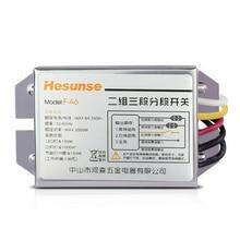 F-A6 Hesunse 2 CH цифровой переключатель подраздела два способа приемник для освещения лампы
