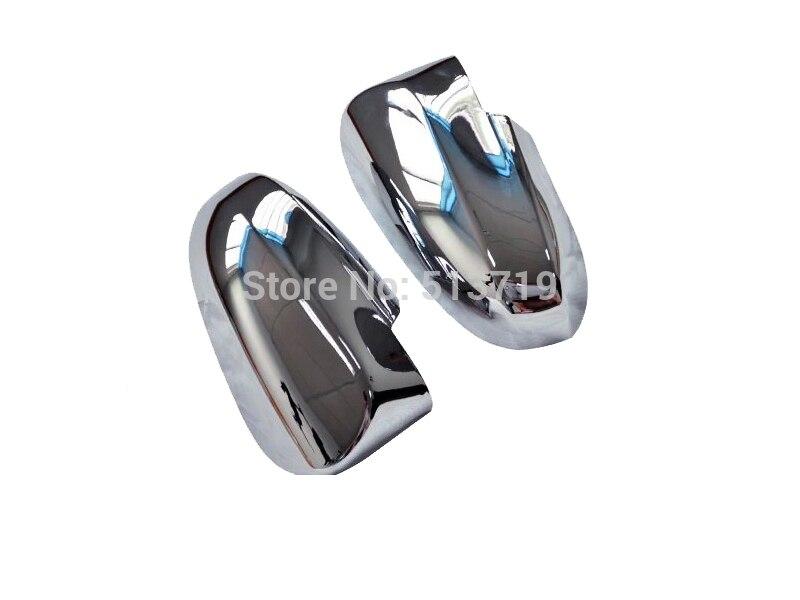 eee73b436 سيارة غطاء المرآة الجانبية غطاء مرآة الرؤية الخلفية يصلح لتويوتا ياريس l  2013-2014 abs الكروم 2 قطع لكل مجموعة