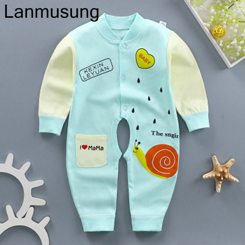 Boys Baby Clothing Cotton comfortable New baby clothes Baby Girl Romper Clothes Long Sleeve Infant Product