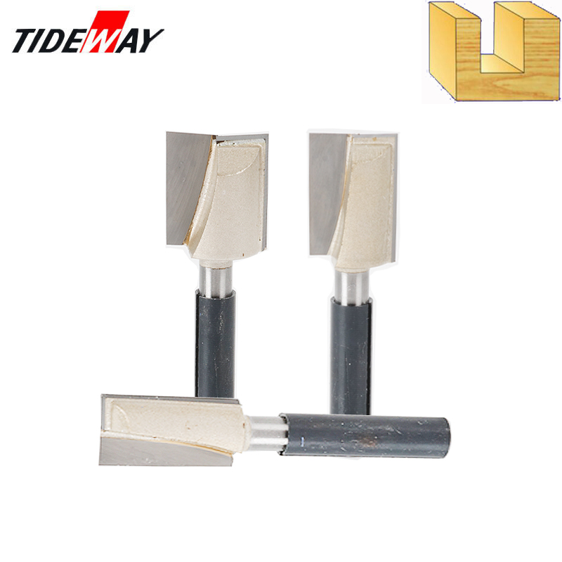 Tideway 8mm Cleaning Bottom Engraving Bit CNC Carbide End Mill Tool 3D Woodworking Insert Router Bit Tungsten End Milling Cutter