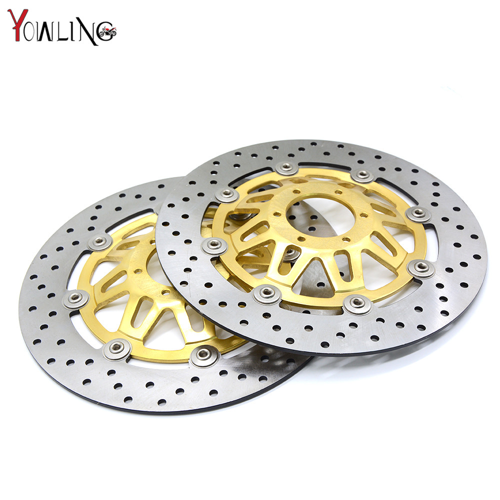 motorcycle accessories Front Brake Disc Rotor For Honda CB400 1999 2000 2001 2002 2003 2004 2005 2006 2007 2008 2009 new brand motorcycle accessories gold front brake discs rotor for suzuki gsxr1000 2005 2006 2007 2008