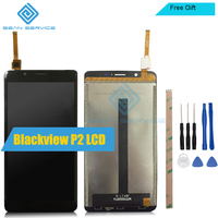 For Blackview P2 LCD Display TP Touch Screen Digitizer Assembly 5 5 Lcds Blackview P2 Tested