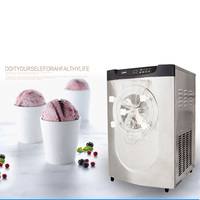 Ticari elektrikli sert dondurma makinesi  dondurma yapma makinesi  dondurma makinesi dikey dondurma yapma makinesi 110v BQ22T 1 adet
