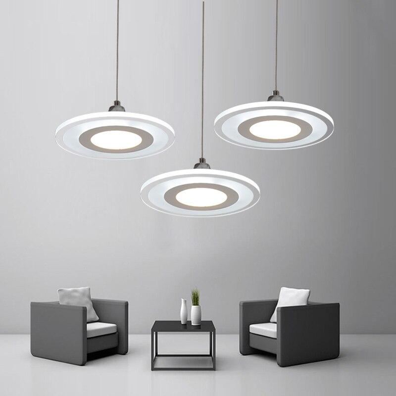 Dining room Restaurant Modern Ultrathin LED Light Chandelier for Bedroom Kitchen Study room Home Hotel Decorative Lamp 2031