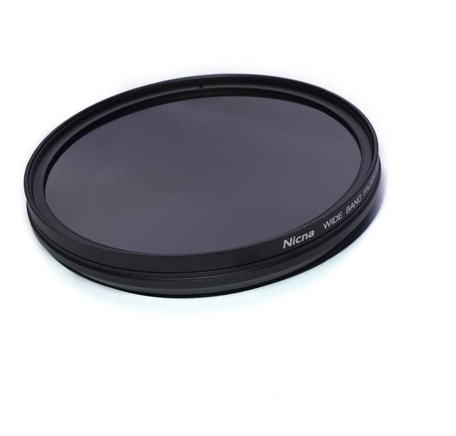 Nicna 52mm Vari-ND Fader ND2 to ND400 Adjustable Filter ND2 ND4 ND8 ND16 ND32 ND64 to ND200 Filter