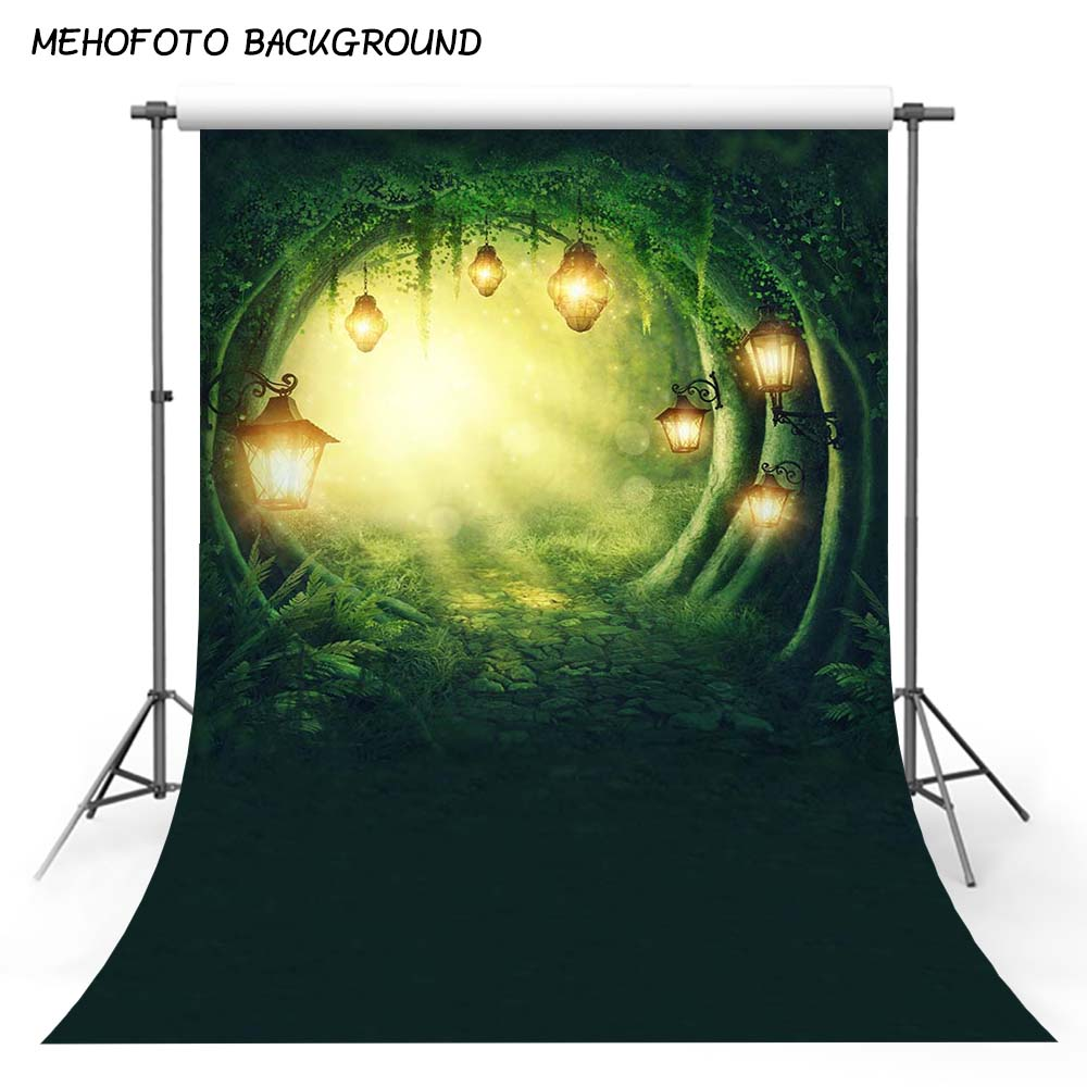 MEHOFOTO Children Spring Photo Background Vinyl Photography Backdrops Fairy Tale the Scenery Background for Photo Studio F-2906 kidniu vinyl background photography photo props winter snow wallpaper children scenery backdrops 9x5ft win1376