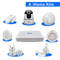 2017 NEO New Brand Smart iHome Kit Home Automation Alarm System Wifi App Home Smart Security 8CH NVR Wifi IP Camera