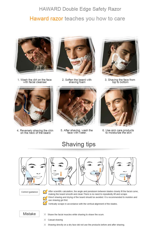 剃刀使用图