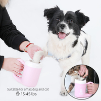 Pet Paw Washer Dogs Dirty foot Paw Cleaning Cup Dog Accessories