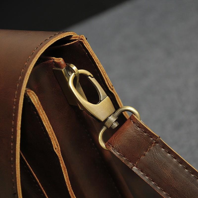 Vintage Men Business Real Genuine Leather Briefcase Travel Causal Shoulder Messenger Portfolio Laptop Bags Lawer Handbag Bolsa (15)