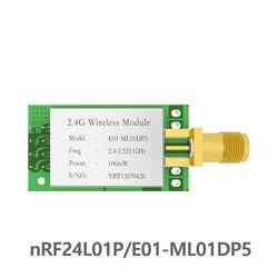 SPI nRF24L01 PA LNA 2.4GHz moduł rf E01-ML01DP5 2.5km iot 2.4 ghz nadajnik rf odbiornik z osłoną dla arduino nRF24L01P