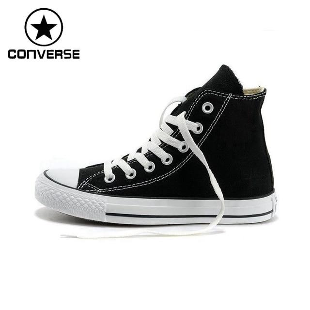 18e4d55809e8 Original Converse Unisex High top Classic Canvas Skateboarding Shoes  Sneakser