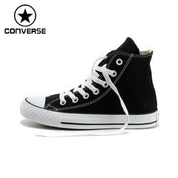 Original Converse Unisex High top Classic Canvas Skateboarding Shoes Sneakser