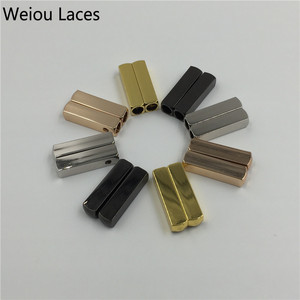 Image 5 - Weiou (20pcs/5 Sets) Mirror Gold Silver Metal Aglet Screw On Tips Replacement For Shoelace Sneakers Shoe String w/screw Driver