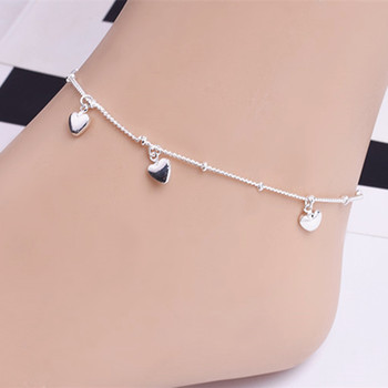 2020 New Love Heart Bracelets on leg the Anklets Beach Barefoot Sandals Foot Jewelry For Women Fashion Brand 2020 New Arrival