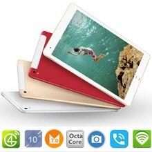 10,1 дюймов официальный оригинальный 4G лте телефонный звонок Google Android 8,0 mt6753 восемь ядер ips Tablet Wi-Fi 4G B + 32 ГБ 6 4G B металла планшетный ПК