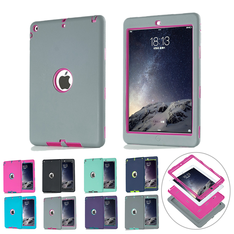 shockproof silicone case for ipad air 1 ipad 5 cover funda kids safe