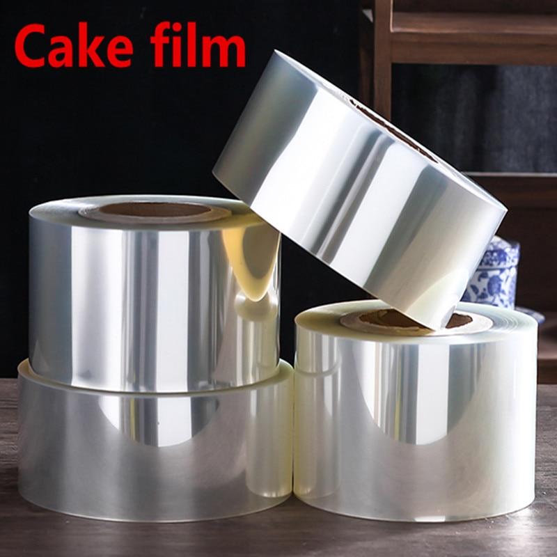 4cm To 20cm Big Transparent Mousse Cake Film Dessert Bounded Decorative Sheet Food Film Around Cake Side Edges OPP Plastic Band