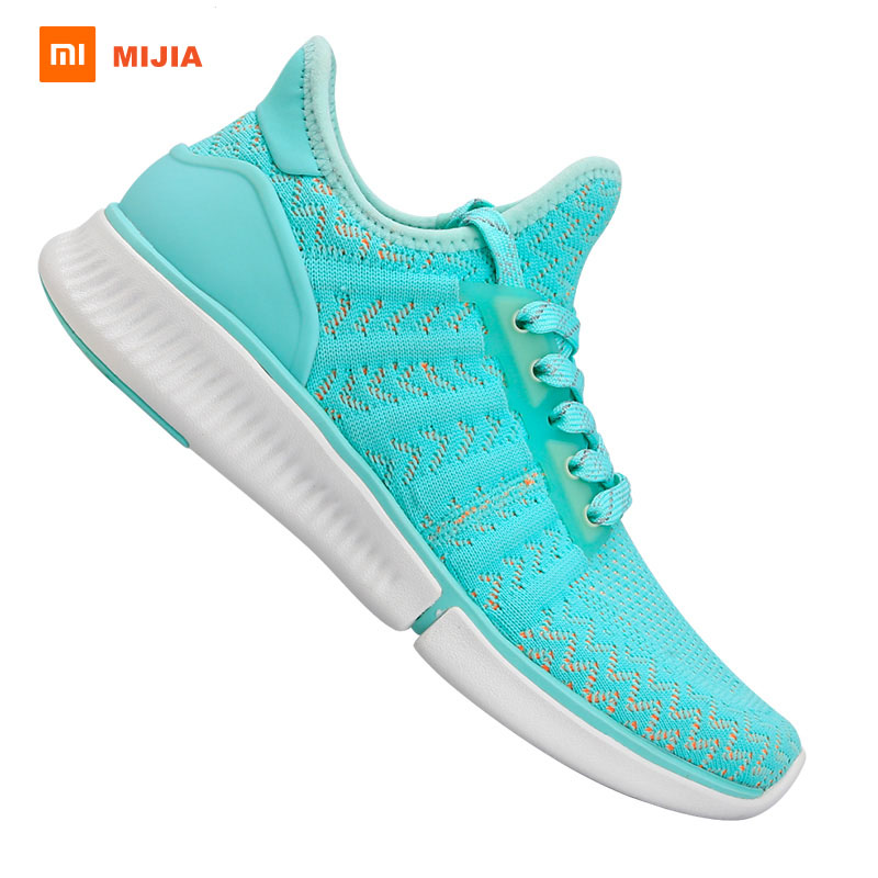 Xiaomi Mijia Running Shoes Women Sneakers Breathable Air Mesh Sports Shoes Light Free Running Shoes Light Weight Walking Shoes 2017 zoom air running shoes men light weight mesh material dmx sport shoes men eur size 40 45 free shipping