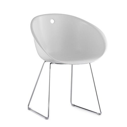 US $128.0 |Minimalista Moderno Design in plastica classico acrilico Sedia  Da Pranzo con Gambe In Metallo Famoso Fashion Design Sedia Mobili Sala Da  ...