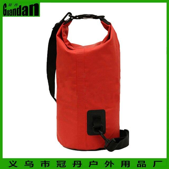7d532c4b4c46 500D PVC Tarpaulin waterproof backpack 10L duffle bag waterproof dry bag  travel kits for diving cannoe kayak rafting camping