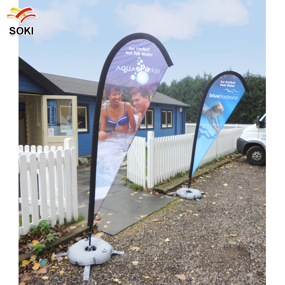 Banner banners banner poles outdoor display cheap custom - 3 5m Flag Banner For Trade Show Exhibition Display Fabric Feather Teardrop Advertising Sign Wing Flyer Only 3 6m Poles