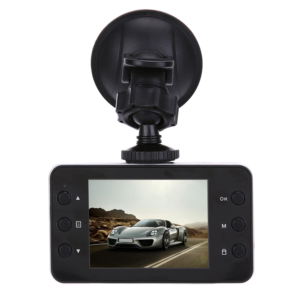K6000 Driving Recorder Car DVR Camera Ultra FHD 1080P 140 Degree Wide Angle Night Vision Cycle Recording Car Dash Camcorder 10