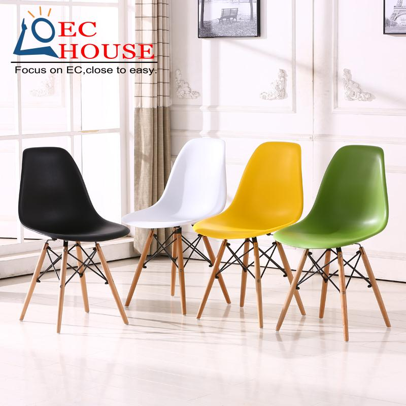 Modern Design Rocking Lounge Chair Leather And Wood For