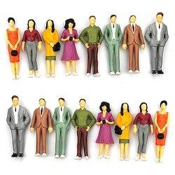 100 шт. 1:100/75/150 здание смолы макет модели людей хо масштаб Окрашенные рис пассажирские стат