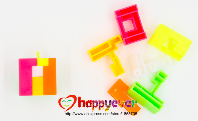 """Cube Twist for kids Party Favors Box of 40 Puzzle Cubes 2-1//4/"""" school"""