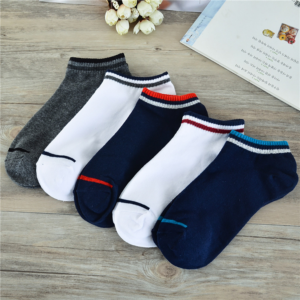CHAMSGEND UNISEX COMFORTABLE COTTON SOCK SLIPPERS SHORT ANKLE SOCKS COMPRESSION SOCKS