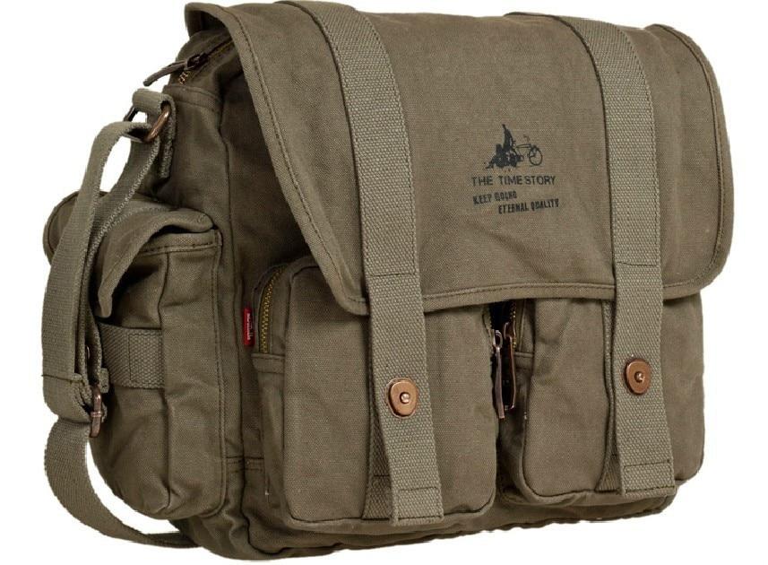 Men Male Women Canvas Shoulder Messenger School Book Bag Satchel Crossbody 1836 In Bags From Luggage On Aliexpress Alibaba Group