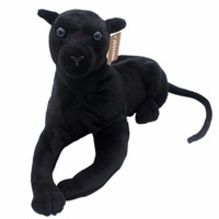JESONN Realistic Stuffed Animals Plush Toys Panther for Children's Birthday Gifts