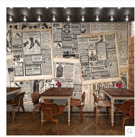 aliexpress : 3d retro nostalgie tapete wandbild wohnzimmer, Wohnzimmer