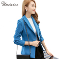 2016 Women Blazers & Jackets Blazer OL Style Korean Women Blazer Slim Coat Sing Button Outerwear Blazer Female Jackets Suits